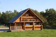 holiday log cabins Scotland