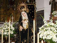 NUESTRA SEÑORA LA VIRGEN DE LOS DOLORES Y SANTO ENTIERRO, 2008 BADOLATOSA, SEVILLE, SPAIN, 2008 EASTER. 7