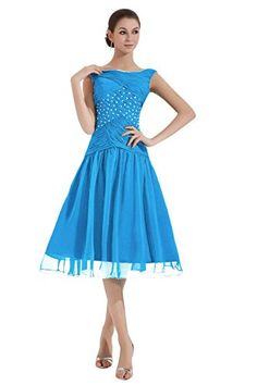 Dora Bridal Women´s Tea-Length Ruched Mother Of The Bride Dresses Size 16 US Ocean Blue Dora Bridal http://www.amazon.com/dp/B015FMFING/ref=cm_sw_r_pi_dp_4Zq0wb1FF0DRB