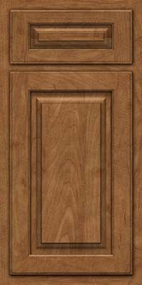 KraftMaid Cabinets -Square Raised Panel - Solid (TWSM) Maple in Rye from waybuild