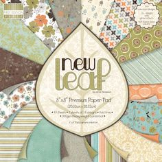 8 x 8 Paper Pad New Leaf | First Edition Paper