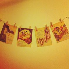 DIY name decoration using vintage Golden Books #nursery #decor