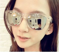 http://www.aliexpress.com/item/Free-shipping-fashion-big-clear-frame-reflections-mirror-sunglasses-ladies-glasses-1pcs-lot-promotion/638726988.html  Free shipping fashion big clear frame reflections mirror sunglasses/ladies`glasses 1pcs/lot promotion-in Sunglasses from Apparel & Accessories on Aliexpress.com