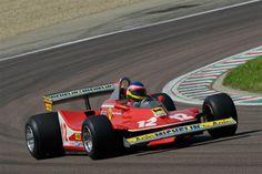 ジャック・ヴィルヌーヴ、父親ジルのフェラーリ 312T4をドライブ