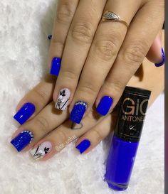 Unhas da cliente Angélica 🥰😍💅🏽#unhaseesmalte #esmaltece #flor #cargadupla #pimcel #euamominhamanicure #likeforlike #segui #seguidores… Nail Designs, Nails, Beauty, Finger Nails, Valentines Day Weddings, Polish Nails, Feet Nails, Nail Art, Gel Nails