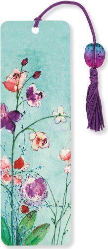 Fuchsia Blooms Beaded Bookmark by Peter Pauper Press: http://www.amazon.com/dp/1441315659/ref=cm_sw_r_pi_dp_Dkgcvb08CKPA2