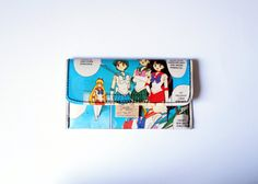 Tobacco pouch SAILOR MOON Manga upcycling unique piece from PauwPauw on Etsy