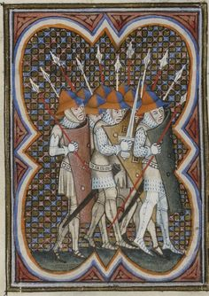 Grandes Chroniques de France. Auteur : Maître du couronnement de Charles VI.