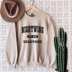 Camp Nightwing Sweatshirt - XL / White