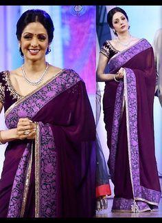 Buy Bollywood collection Purple korasilk zariwork embroidered wedding saree Online Shopping at Best Price on Variation. Huge range of Designer Sarees, Indian Wedding Saree, Party Wear Sarees and Latest Saree Designs.
