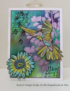 Nature is calling - Designs by Ryn stamps and Stencil
