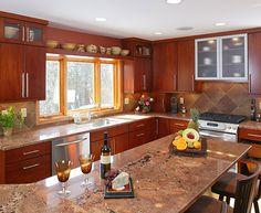 paustas Contemporary Kitchen after remodel
