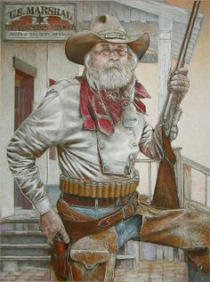 western paintings | How to commission your own, custom Western art portrait
