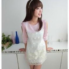Buy '59 Seconds – 3/4-Sleeve Embroidered Dress' with Free International Shipping at YesStyle.com. Browse and shop for thousands of Asian fashion items from Hong Kong and more!
