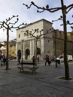 Fachada de Iglesia de San Francisco en Tolosa