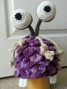 Crochet Boo from Monsters Inc. hat by CreatedWithaHook on Etsy, $25.00