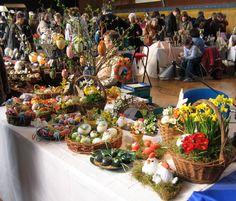 German Easter Egg Market