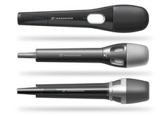 Sennheiser Sketches by Michel Alvarez | Slick and tight renderings with great use of soft surface finishes and different textures & patterns, caisdesign.com