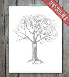 Custom Wedding Tree Print