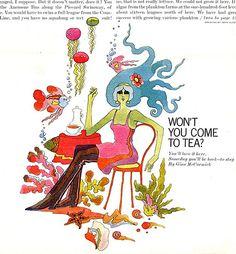 McCall's Magazine, John Alcorn, 1968.