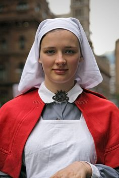 330,000 men went to war in WWI with just 3,000 nurses to offer aid.    A young Airlie Dodds, in a nurse uniform of the time, was at Martin Place to promote the current free exhibition at Australian War Memorial in Canberra that tells the incredible stories of Australian nurses serving overseas from WWI to the current conflict in Afghanistan.