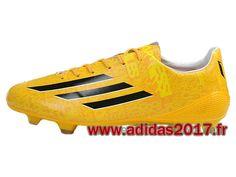 Boutique Adidas Homme Chaussures F50 adiZero Leo Messi´s 2014 jaune