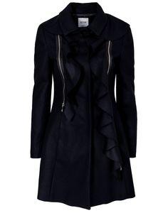 Long Ruffle Coat from Moschino Cheap & Chic