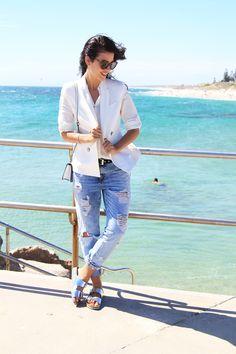 How to wear Birkenstocks via @stylelist | http://aol.it/1waucM5