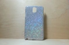 Glitter Case for Samsung Galaxy Note 3 Silver by shirleycatwong, $3.00 USD