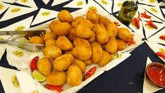 """Coxinhas - Little raindrops of fried goodness usually filled with chicken and a very creamy cheese called """"catupiry."""" Tastes like: A fried mac 'n' cheese ball, sans noodles, plus chicken. Brazilian Bbq, Brazillian Food, Brazilian Recipes, Coconut Flan, Austrian Recipes, Book Cakes, Shrimp Dishes, Creamy Cheese, Buzzfeed Food"""