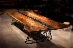 Walnut Table, Tables, Dining Table, Furniture, Home Decor, Mesas, Decoration Home, Room Decor, Dinner Table