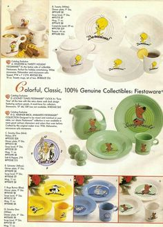 Fiestaware collectables