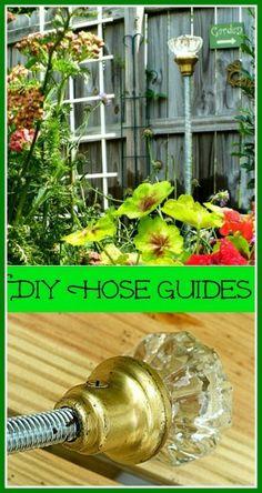 DIY hose guides
