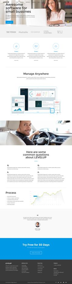 LEVELUP - Creative Multi-Purpose WordPress Theme