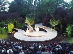 Ashoka Farms Open Air Theatre, LondonTogether Divine elate charm rainbow magic find count tesla genius giggle with full speed halfway Ashoka n Sweety Theater Architecture, Landscape Architecture Design, London Architecture, Outdoor Stage, Outdoor Theater, Theatre Design, Stage Design, Poket Park, Open Air Theater