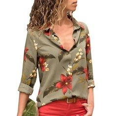 3af8dc25430a1 Cleavage Long  sleeves  chiffon  shirts for better relax in the Office