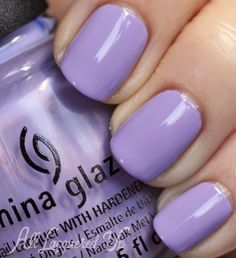 China Glaze Tart-y for the Party Nail Polish Swatch from the Avant Garden Spring 2013 collection
