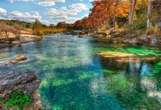 Emerald pools of the Frio River, Texas #TravelDestinationsUsaTexas
