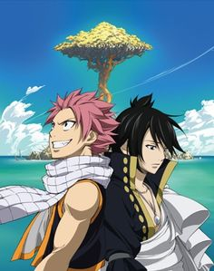 relationship between zeref and acnologia fairy