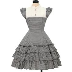 Victorian Maiden ☆ ·. . · ° ☆ gingham dress https://www.wunderwelt.jp/products/%EF%BD%97-14328 IOS application ☆ Alice Holic ☆ release Japanese: https://aliceholic.com/ English: http://en.aliceholic.com/