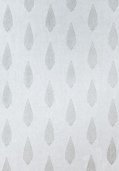MANOR EMBROIDERY, Grey on Off White, AW73006, Collection Meridian from Anna French