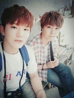 Kihyun and boyfriend jeongmin