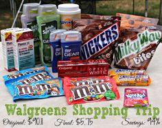 Walgreens Shopping Trip: Save 94% (Introducing e-coupons!)