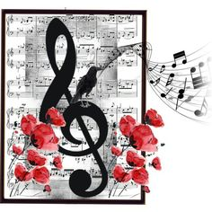 Musical Note Art