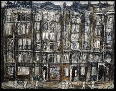 Jean Dubuffet (French, Le Havre 1901–1985 Paris) Apartment Houses in Paris  http://www.pinterest.com/mariekazalia/dubuffet/