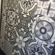 Patroon tegels, vloertegels, dekor, geen cementtegel dus ook geen vlekken. Patchwork