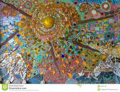 Image result for outdoor ceramic mosaic art