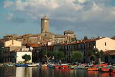 Marta (VT), a small, charming town on Lake Bolsena.