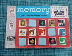 Milton Bradley's Memory Card Matching Game, looks like illustrations are by Roger Duvoisin