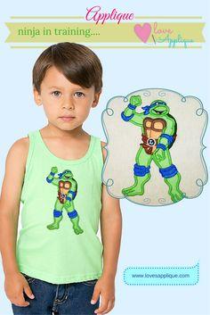 Ninja Turtle Applique. Ninja Turtle Embroidery, Ninja Turtle Designs. Ninja Turtle Party Ideas. Ninja Turtle Outfits. Ninja Turtle T Shirts. www.lovesapplique.com